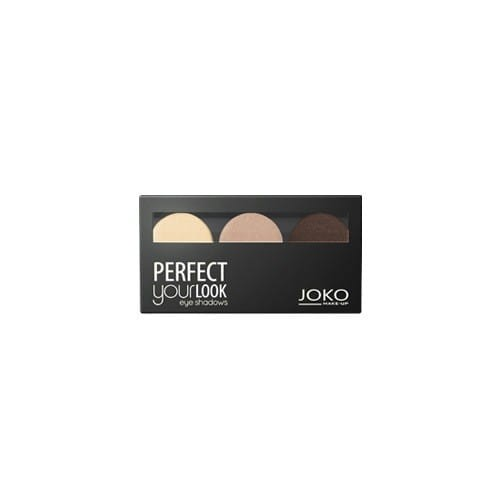 Make-Up Perfect Your Look Eye Shadows cienie do powiek trio satin 300 1szt