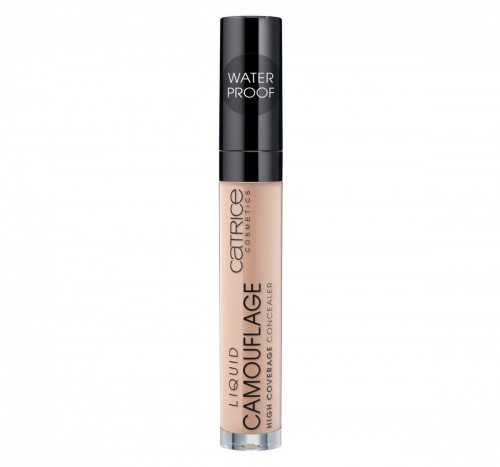 Liquid Camouflage High Coverage Concealer wodoodporny korektor w płynie 020 Light Beige 5ml